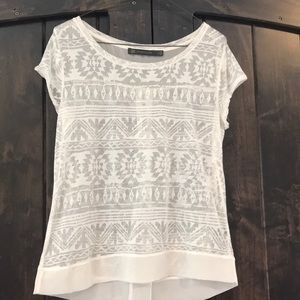 Bohemian chic top for summer days